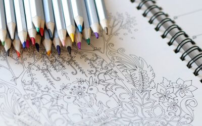 coloring books to cope with stress